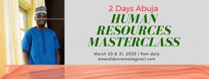 Abuja HR Masterclass